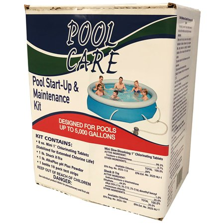swimming pool chemical test kit instructions