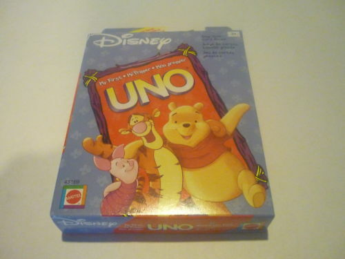 my first uno winnie the pooh instructions