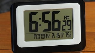 instructions to use a lacrosse technology alarm clock model ws-9520u