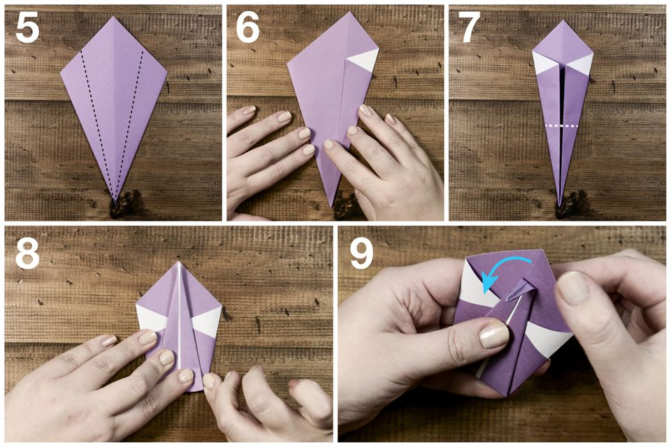origami swan instructions easy