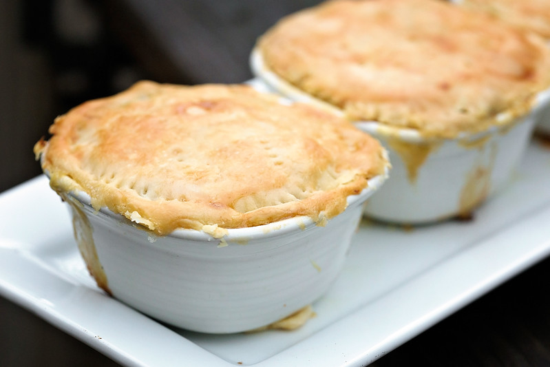 individual pot pie oven instructions