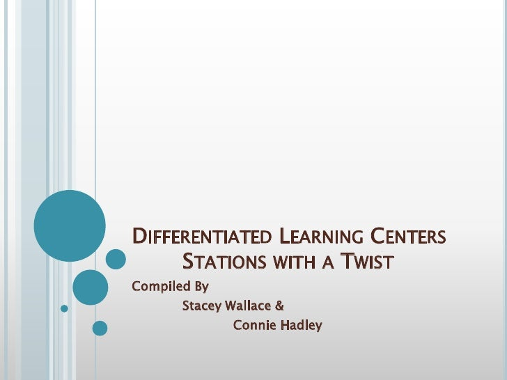 differentiated instruction learning for all