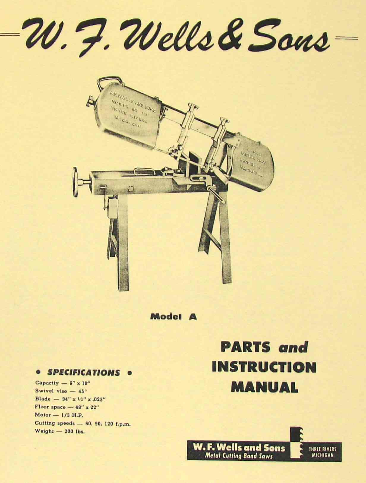 delta 10 band saw instructions