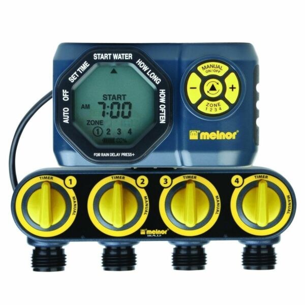 melnor 4 zone water timer instructions