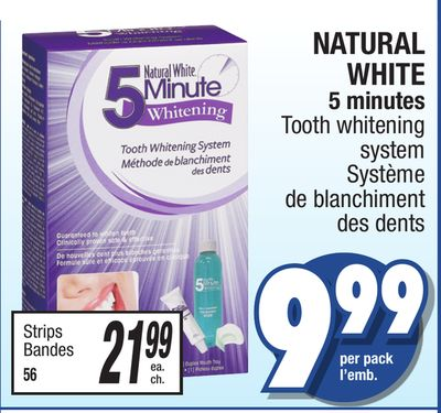 natural white 5 minute instructions