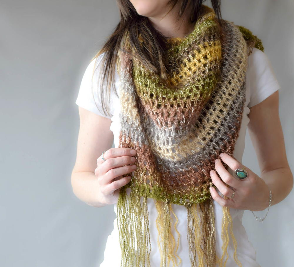 simple crochet scarf instructions